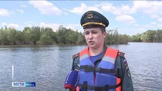 Омск накрыла третья волна паводка
