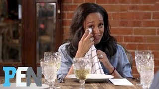 Tia Mowry-Hardrict Gets Emotional, Gives Good Friend Brittany Daniel Marriage Advice | PEN | People
