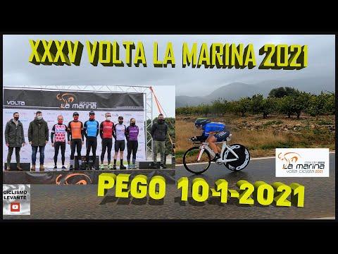 XXXV Volta La Marina PEGO 10-1-2021 Ciclismo 4K CRI 9Km