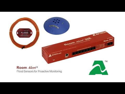 Protect Against Flood Damage With Room Alert