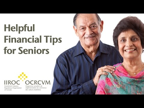 VIDEO: Helpful Financial Tips for Seniors