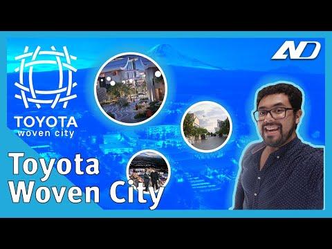 Toyota va a construir una ciudad! ? Woven City - #CES2020
