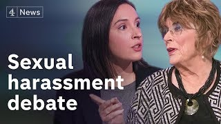 Sexual harassment debate: Where should the line be drawn?