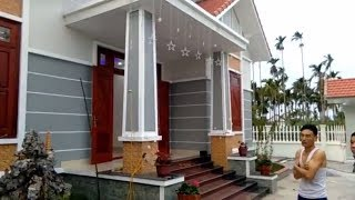 Thăm Quan Mẫu Nhà Cấp 4 Mái Thái Đẹp Nhất  Việt Nam|vietnam travel