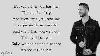 Too Good At Goodbyes - Sam Smith (Boyce Avenue acoustic cover)(Lyrics)