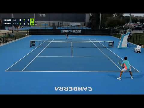 UTR Pro Tennis Series - Canberra - Centre Court - 12 April