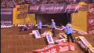 2006 AMA Supercross Rd 6 Heat 1
