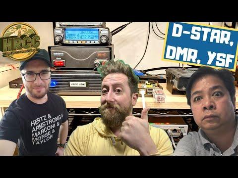 Linking Digital Modes (DMR, YSF, & D-STAR) HRCC Link
