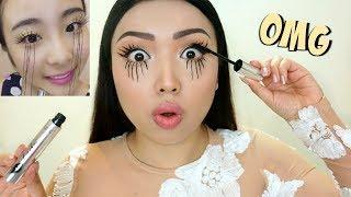 EXTREME LASHES Viral Asian Mascara Tested !!!