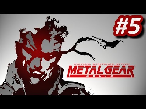 METAL GEAR SOLID (PS1) - Episodio 5: Cyborg Ninja / Gray Fox