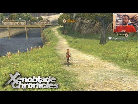 XENOBLADE CHRONICLES (Wii) - Calentando para la edición definitiva de Switch || GAMEPLAY en Español