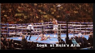 Joshua vs Ruiz. Round when both goes down. One of the greatest round ??