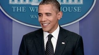 President Obama Holds a News Conference