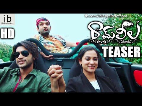 Ram Leela first look teaser - Havish, Abhijith, Nandita