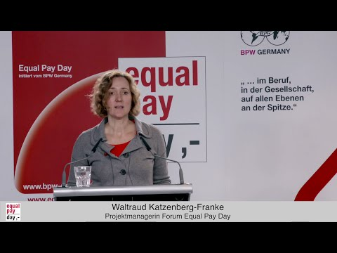Waltraud Kratzenberg-Franke  | Equal Pay Day Forum am 03.11.2015 im BMFSFJ, Berlin