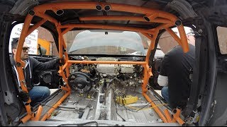 Never cut out an old Roll Cage! - Targa Newfoundland Scion FR-S Build Ep.1