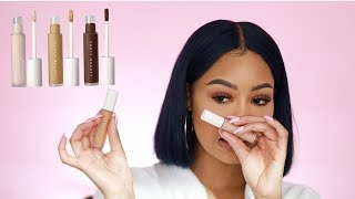 FENTY BEAUTY New CONCEALERS!! REVIEW + Tutorial