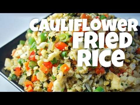 Low Carb Cauliflower Recipe: Cauliflower Fried Rice
