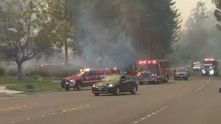 Anaheim Hills Fire!