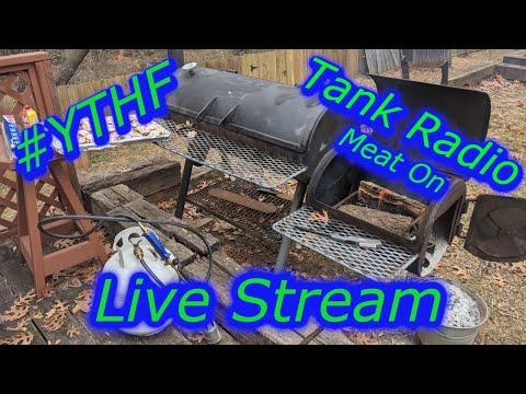 #YTHF21 Tank Radio Ribs Smoke out, Meat On