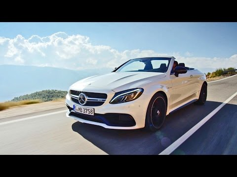 2017 Mercedes-AMG C63 S Convertible - Driving footage