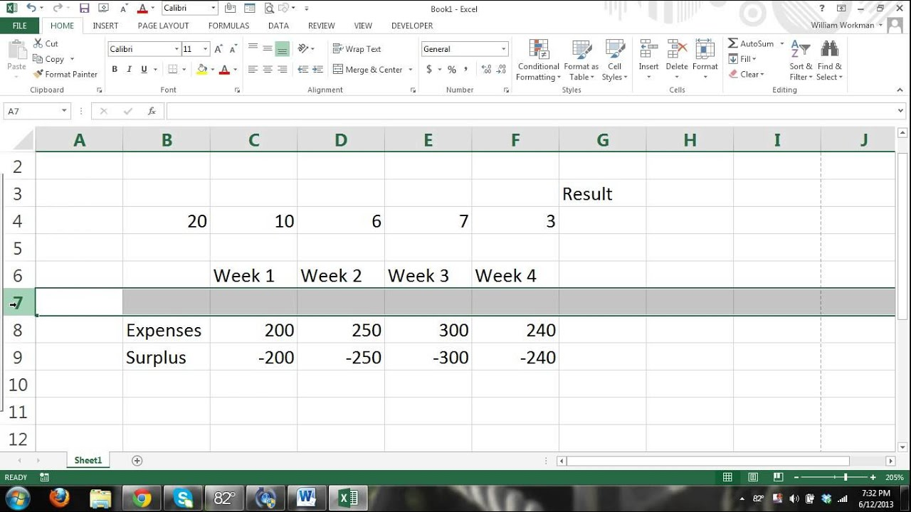 Excel Tutorials For Beginners Part 7 Excel Charts Youtube