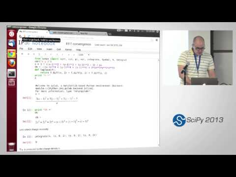 Image from Symbolic Computing with SymPy, SciPy2013 Tutorial, Part 5 of 6