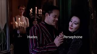 greek gods as the addams family (movies)
