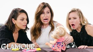 Mila Kunis, Kristen Bell and Kathryn Hahn Review Kids Toys | Glamour