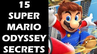 15 Super Mario Odyssey Secrets You Totally Missed
