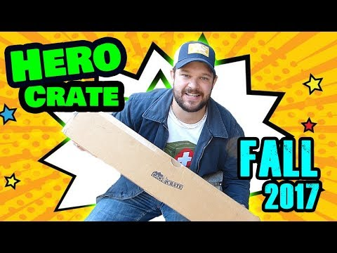 Fall 2017 Hero Crate GEOCACHING Unboxing!