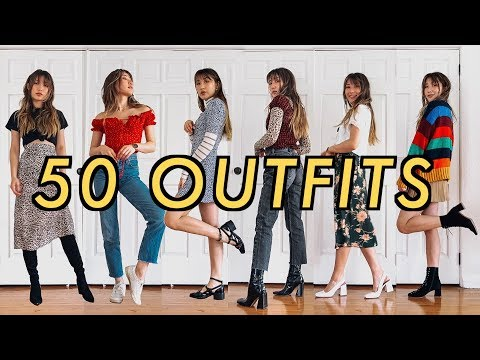 Video: 50 OUTFITS for when you have nothing to wear