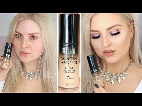Milani 2 in 1 Foundation & Concealer ? First Impression Review