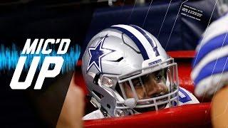 "Ezekiel Elliott Mic'd Up Week 15 ""Did You Just Jump in the Salvation Army Bucket?"" | NFL Films | SFX"