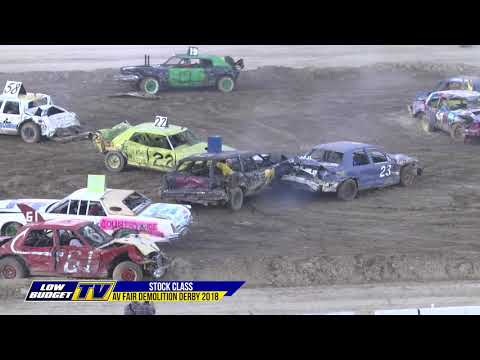 AV FAIR: Stock Class Demo Derby 2018