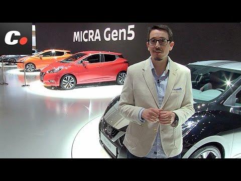 Nissan Micra | Salón de París 2016 | Mondial de l'Automobile | coches.net