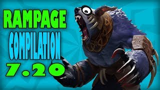 Rampage Compilation by PRO PLAYERS - DOTA 2
