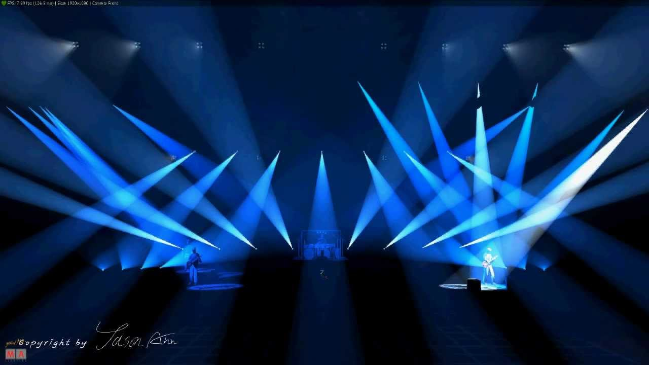 Dream Theater Breaking All Illusions Lighting Design By