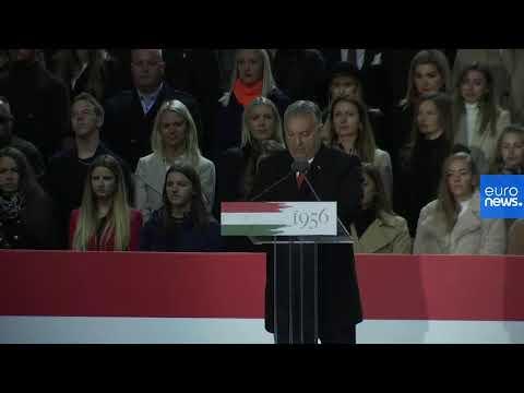 ÉLŐ Orbán Viktor magyar miniszterelnök ünnepi beszéde október 23-án