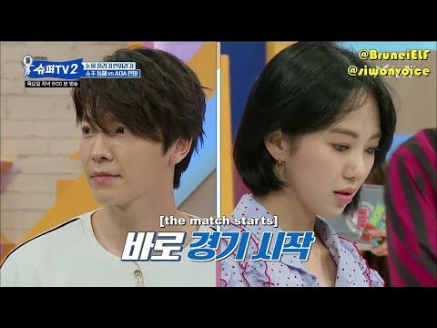 [ENGSUB] 180607 SuperTV S2 EP1 - Donghae vs AOA Mina (Crying Game)