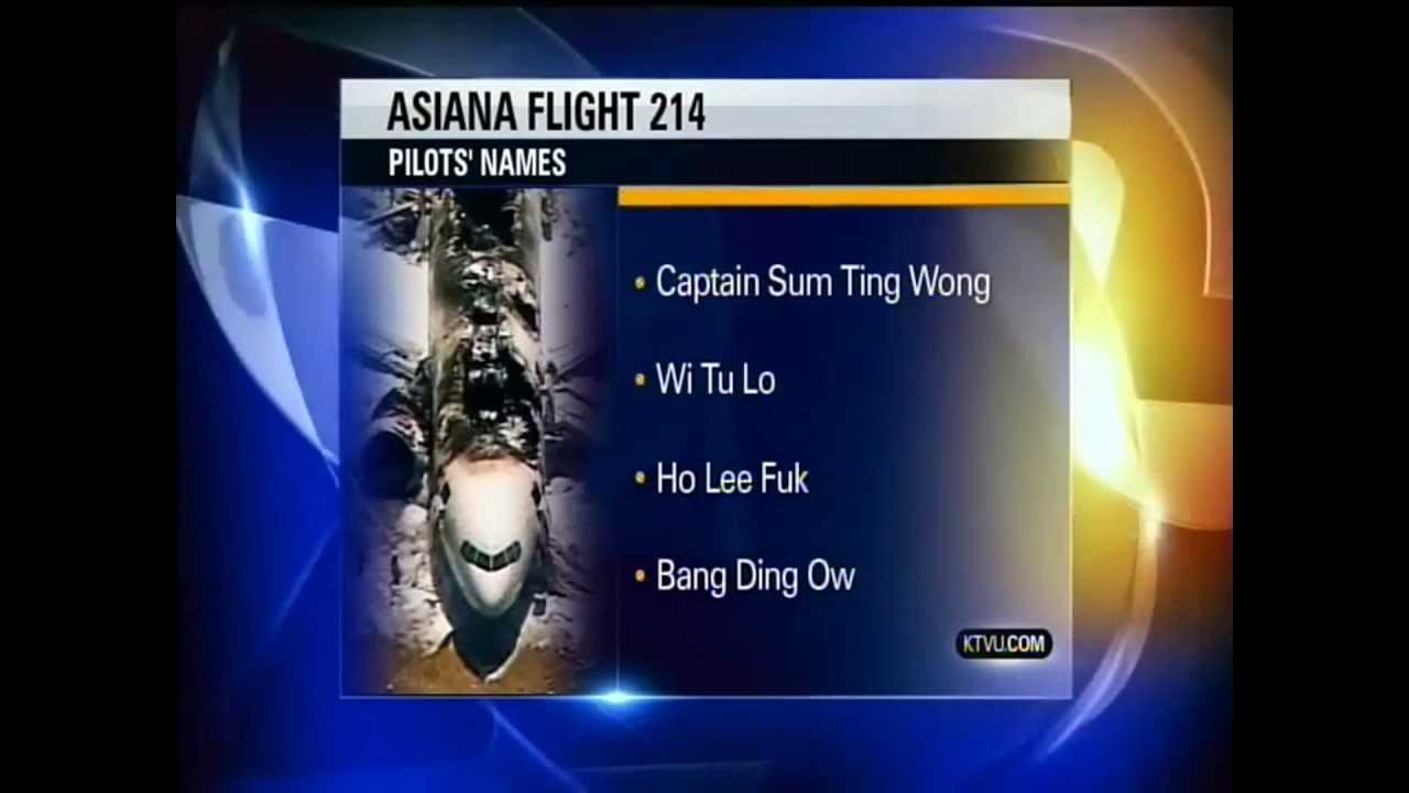 Funny Fake Names: KTVU Captain Names Prank And Funny Aftermath