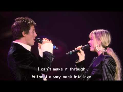 Hugh Grant & Haley Bennett - Way Back Into Love (Lyrics) 1080pHD