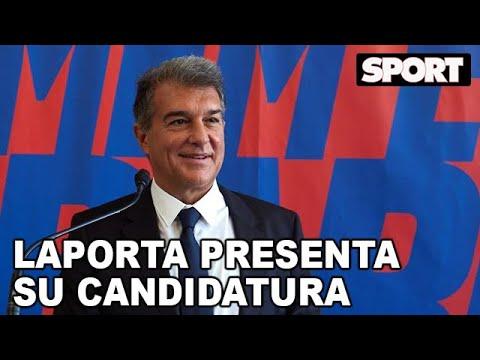 JOAN LAPORTA PRESENTA SU PRECANDIDATURA para SER PRESIDENTE del FC BARCELONA 🔵🔴 ESTIMEM EL BARÇA