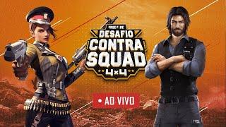 Desafio Contra Squad   FINAL   Free Fire