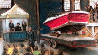 Boston bombing jury sees boat where Tsarnaev hid