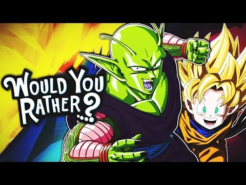 Piccolo And Goten Play Would You Rather?