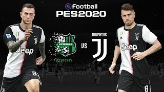 Sassuolo v Juventus 🎮?   PES 2020 Friendly⚽?  ESPORTS