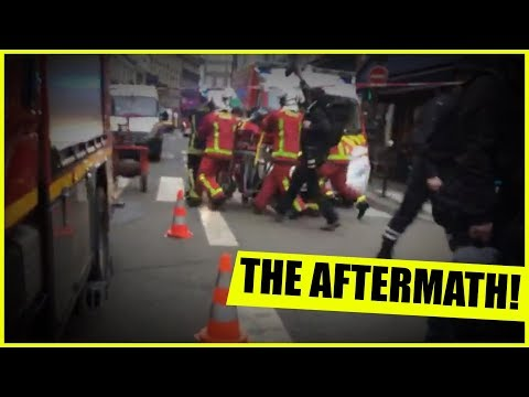 The Aftermath Of The Paris Explosion AS IT HAPPENED!