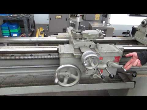 """South Bend Turn-Nado Model 17"""" -  17"""" x 60""""  Lathe In April Multi-Shop Auction At Machinesused.com"""