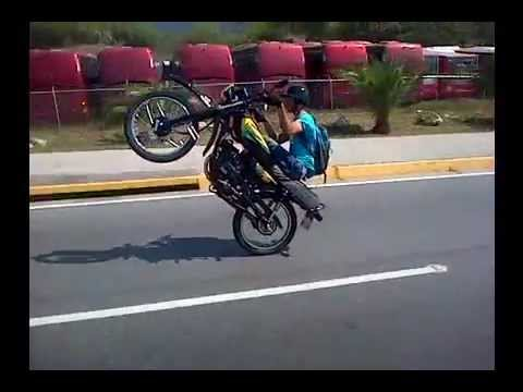 1 Junior Pirueta...Moto Pirueta Extrema en la Guaira @ Junior Pirueta